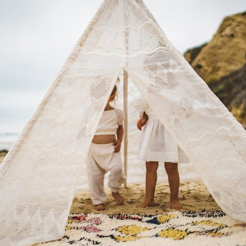 Hand-Made Lace Teepee