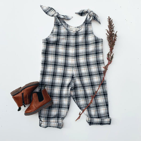 Plaid Dillon Playsuit