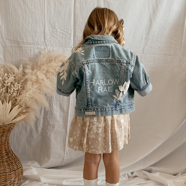 Custom Rae Jean Jacket