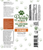 pet cbd high dose syringe