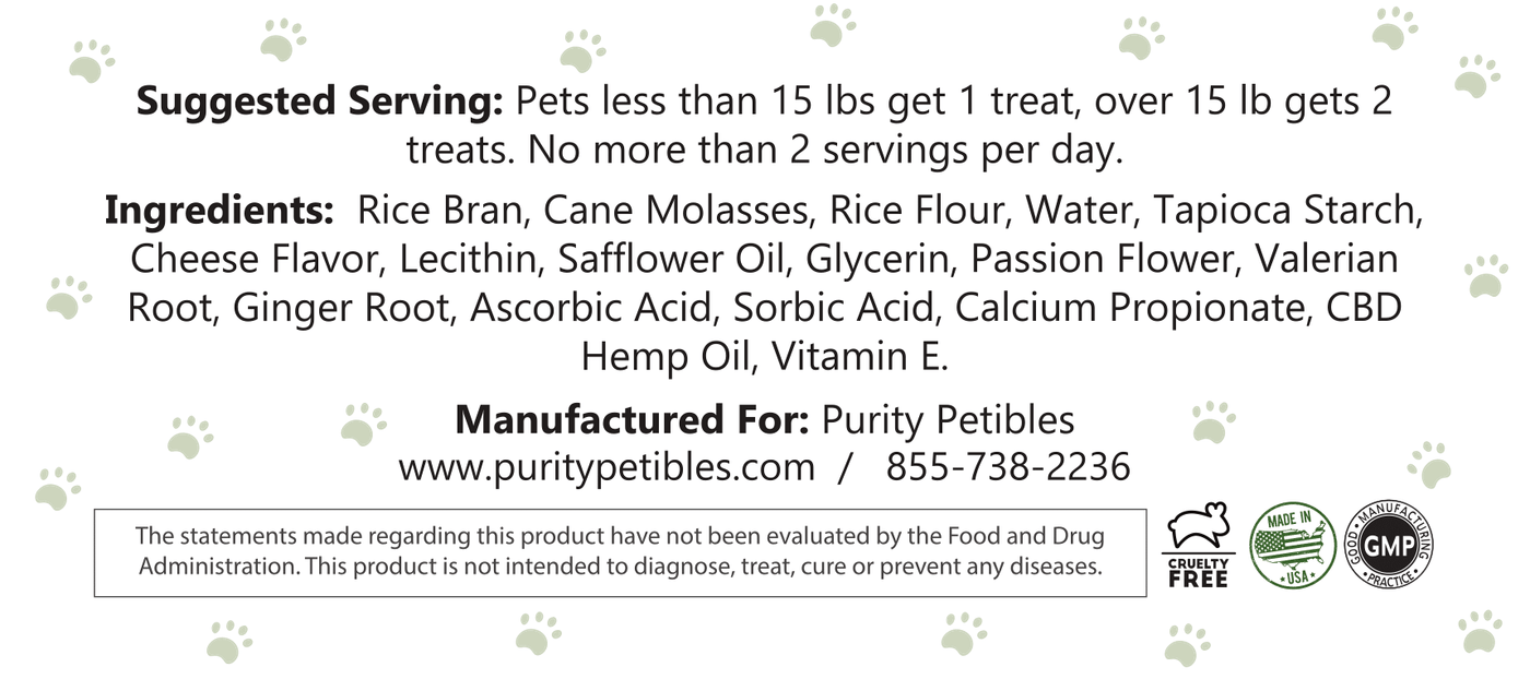 cbd pet treats
