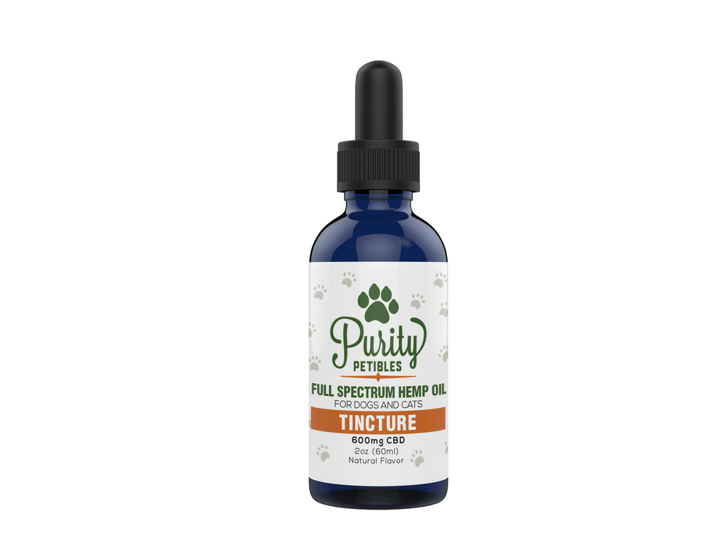 Full Spectrum Hemp Oil Pet CBD Tincture 600mg
