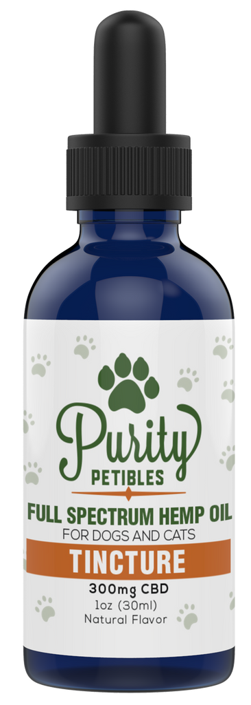 Full Spectrum Hemp Oil Pet CBD Tincture 300mg