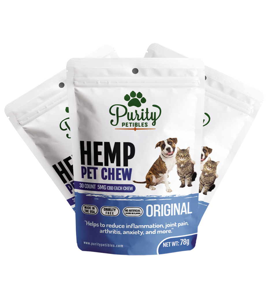 Hemp Pet Treats 150mg (3 PCS)