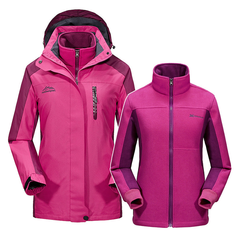 Mountainskin 2-in-1 Thermal Winter Jacket