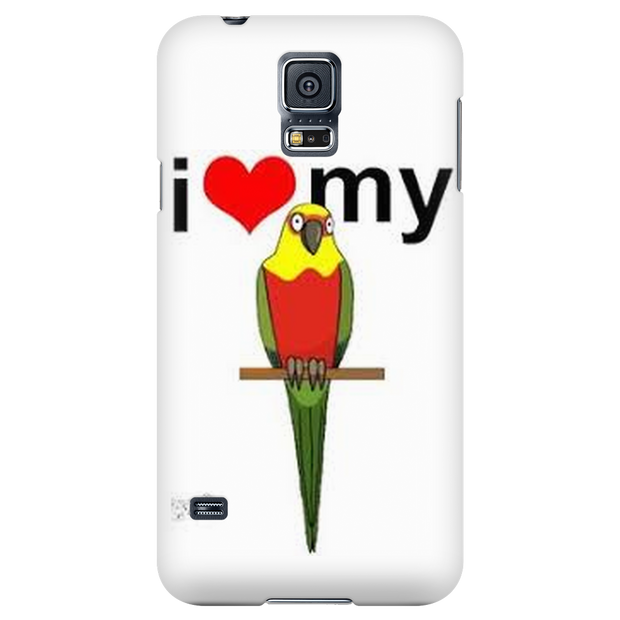 I LOVE my sun conure Phonecases