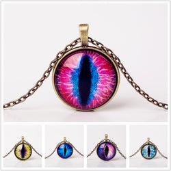 Cat Eye Glass Necklaces
