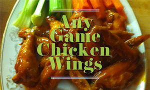Any Game Chicken Wings
