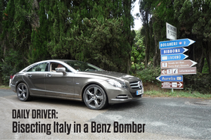 Daily Driver: Bisecting Italy In A Benz Bomber