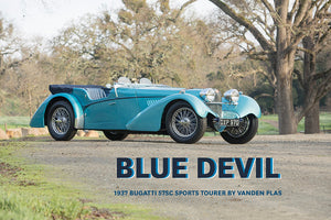 Blue Devil: 1937 Bugatti 57SC Sports Tourer