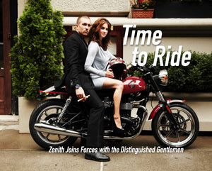 Time To Ride: Zenith Joins Forces With The Distinguished Gentlemen