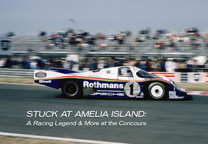 Stuck At Amelia Island: A Racing Legend & More At The Concourse