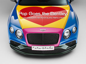 Pop Goes The Bentley: The Legendary Sir Peter Blake Pimps A Ride