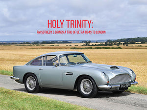 Holy Trinity: RM Sothebys Brings A Trio Of Ultra-DB4s To London