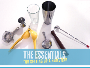 Essentials To Setting Up A Home Bar