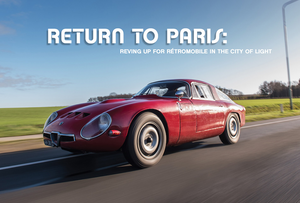 Return to Paris: Reving Up for Rétromobile