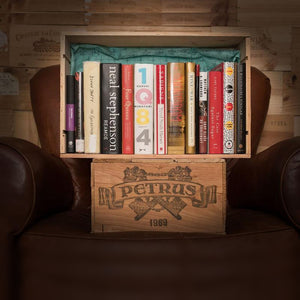 The Box of Knowledge - Wine Box & Books - duncanquinn