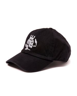 Smoking Skull Cap (Black/Grey) - duncanquinn