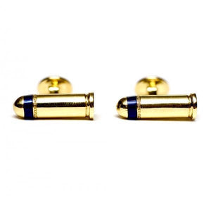 Brass Bullets Cufflinks - duncanquinn
