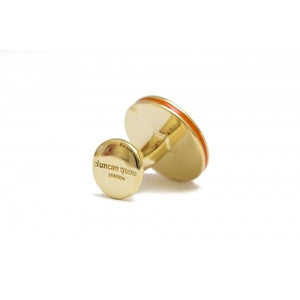 Smoking Skull Brass Cufflinks - duncanquinn
