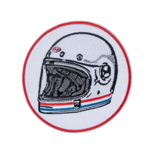 Motorcycle Helmet Patch - duncanquinn
