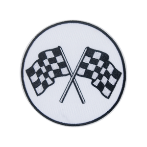 Racing Flags Patch - duncanquinn