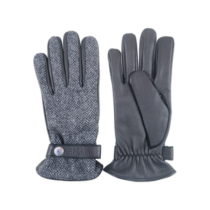 Herringbone Gloves | Grey - duncanquinn
