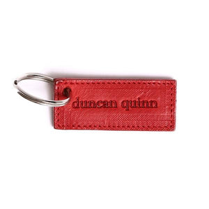 Duncan Quinn Key Chain | Red - duncanquinn