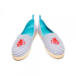 Striped Espadrille - duncanquinn