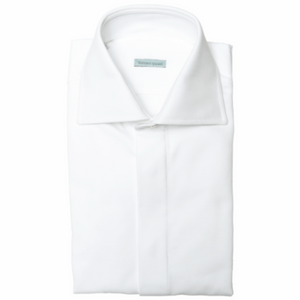 White Dinner Shirt - duncanquinn
