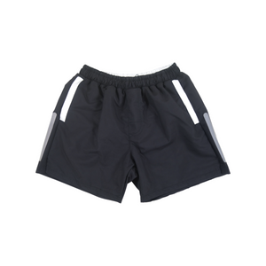 Solid Swim Trunks | Black - duncanquinn