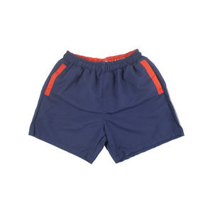 Solid Swim Trunks | Navy - duncanquinn