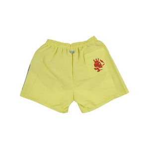 Solid Swim Trunks | Yellow - duncanquinn