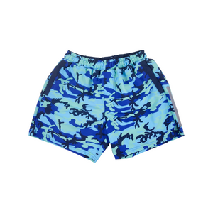 Camo Swim Trunks | Blue - duncanquinn