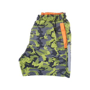 Camo Swim Trunks | Green - duncanquinn