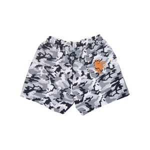 Camo Swim Trunks | Grey - duncanquinn