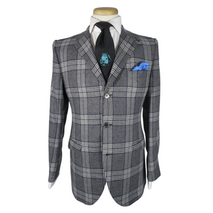 Grey Plaid Suit - duncanquinn