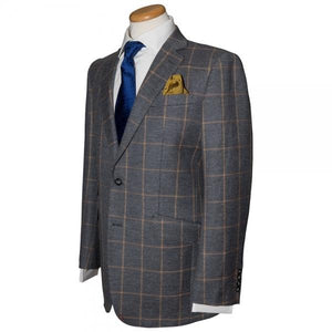 The Tweed Windowpane Sport Coat - duncanquinn
