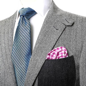 Herringbone Tweed Sport Coat | Featured in Maxim - duncanquinn