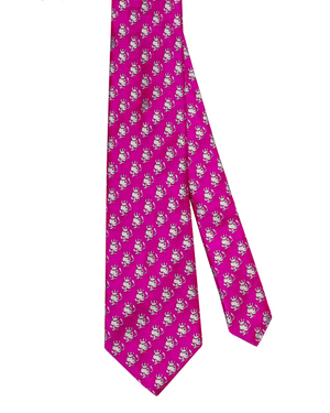 Multi-Smoking Skull Tie - duncanquinn