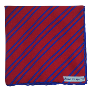 Striped Silk Pocket Squares - duncanquinn