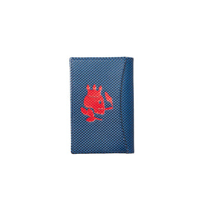 The DQ Wallet | Blue/Red - duncanquinn