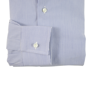 Lightweight Linen/Cotton Dress Shirt | Blue - duncanquinn