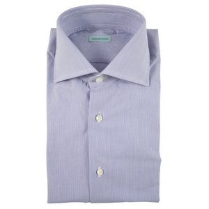 Lightweight Stripe Dress Shirt | Blue - duncanquinn