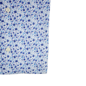 The Floral Dress Shirt | Blue - duncanquinn