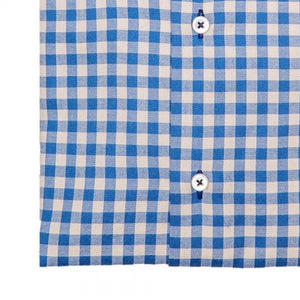 The Gingham Dress Shirt | Blue - duncanquinn