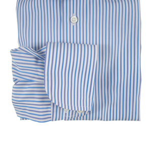 The Striped Dress Shirt | Blue/Grey - duncanquinn