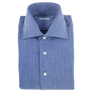 The Flannel Stripe Dress Shirt - duncanquinn