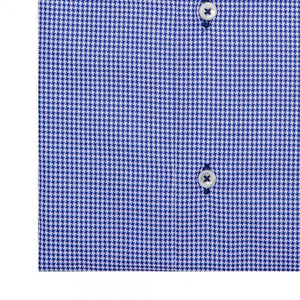 The Houndstooth Dress Shirt | Navy - duncanquinn
