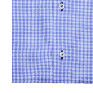 The Houndstooth Dress Shirt | Blue - duncanquinn